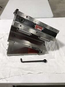 New Suburban Tool 6x12 Compound Angle Magnetic Sine Plate Mspc612fp Chuck Grind