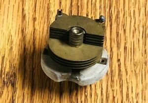 Used Hammarlund 156pf 80pf Air Dielectric Variable Capacitor Brass Plates C59