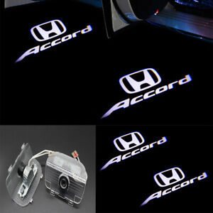 2x Hd Led Accord Logo Laser Projector Door Lights For Honda Accord 2013 2019
