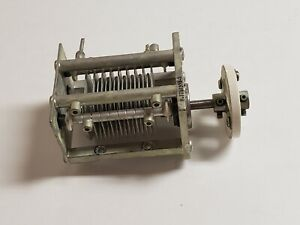 Used Ge 73pf High Voltage Air Dielectric Variable Capacitor Coupler c82