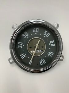 Used 1950 53 Chevy Gmc Truck 12v Gauge Cluster Assembly Both Gauges See Photos