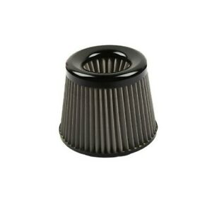 Jdm Black 3 76mm Power Intake High Flow Cold Air Intake Filter Cleaner