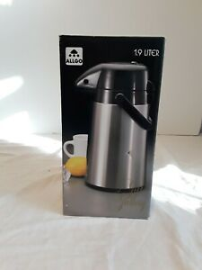 1 9 Liter Coffee Air Pot Commercial Grade Stainless Steel Air Pour