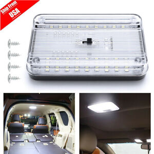 12v 36led Vehicle Car Van Interior Dome Roof Ceiling Reading Trunk Light Lamp Us