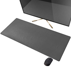 Cennbie Artificial Leather Desk Mat Pad Blotter Protector Extended Non slip