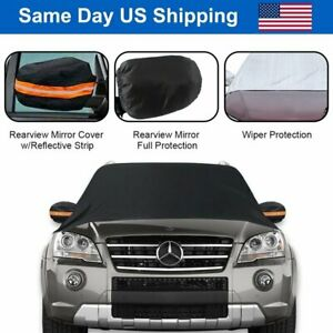 Car Windshield Cover Sun Shade Dust Frost winter snow Ice Rain Guard Protector