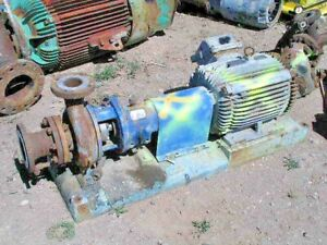 Goulds 3196 Centrifugal 3x4 8 Complete Pump 3550 Rpm 550 Gpm 136 Tdh 53320