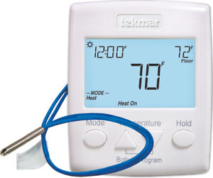 2 Stage Programmable Thermostat 521 Tekmar With 079