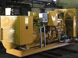 500kw Cat 3412 Bi fuel diesel nat Gas Stationary Continuous Power Generator