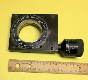 Ardel Kinematic Optics Rotation Stage With Large Adjuster Knob