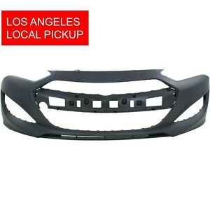 Primed Front Bumper Cover For 2013 2015 Hyundai Genesis Coupe 865112m300 La
