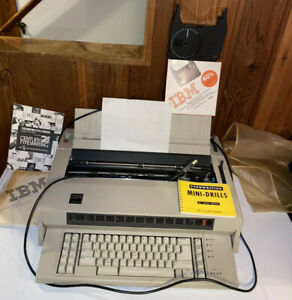 1984 Ibm Electronic Typewriter Type 674x Bundle W Ribbons Works Needs Ink