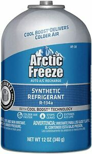 12 pack Af3 1 Arctic Freeze R 134a Ac Recharge Refill 12oz Cans R134a