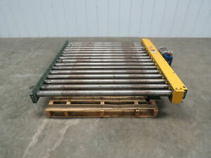 Hytrol 52 w X 60 l 5 Live Powered Pallet Case Roller Conveyor Qty Available