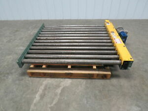 Hytrol 52 w X 48 l 4 Live Powered Pallet Case Roller Conveyor Qty Available