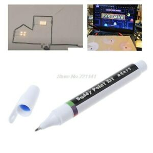 Conductive Ink Pen Electronic Circuit Draw Instantly Magical Pen Circuit Diy