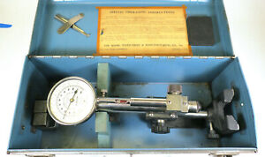 Shore Model D Dial Indicating Scleroscope Durometer Hardness Test Blocks Case