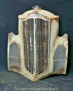 1940 Packard Junior Grille Shell Grilles Hood Ornament Rat Rod Wall Art