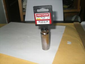Craftsman 34671 3 8 Drive 6pt Sae 5 8 Spark Plug Socket Usa New
