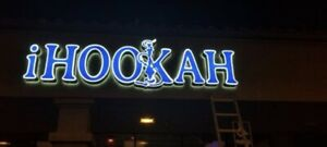 Store Sign Led Reverse Pan Channel Letters