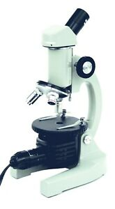 Walter Products Compound Microscope 40 400x Kids Monocular Beginner Microscope