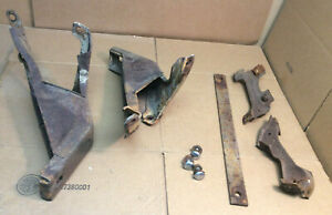 1961 1962 1963 Ford Thunderbird Rear Bumper L R Inner Outer Mounting Brackets