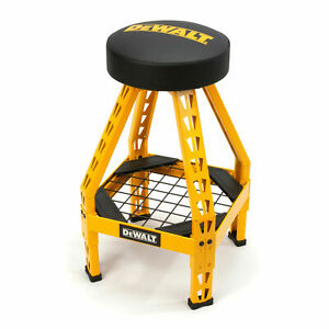 Dewalt Shop Stool Dxstfh030 Swivel Brand New Fast Shipping