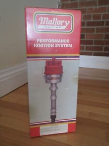 Vintage New Mallory Ignition Dual Point Distributor For A Ford 351 Made In Usa