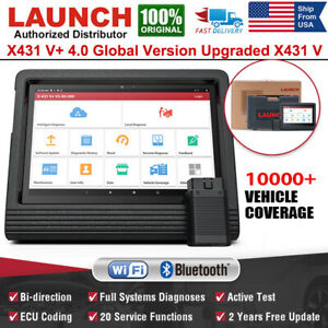 Automotive Ecu Coding Key Immo Obd2 Scanner Launch X431 V Diagnostic Scan Tool