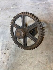 John Deere Hit And Miss Engine Model E Cam Gear And Shaft
