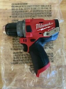 Milwaukee Hammer Drill drivers 2504 20 1 2 M12 Fuel tool only New