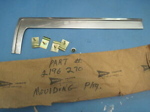 Nos 1960 Chrysler Desoto Dodge Plymouth Right Side Windshield Molding Ex Conv