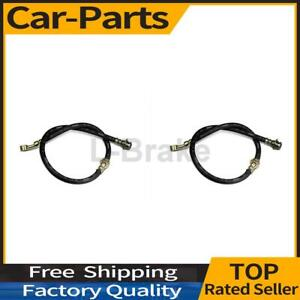 Fits Ford Mustang Ii 1977 1978 2x Centric Parts Rear Brake Hydraulic Hose