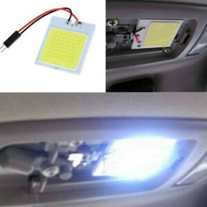 1x 48smd White Panel Led T10 Car Interior Panel Light Dome Lamp Bulb Accessories