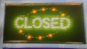 Close Open Led Neon Sign business Sign shop Sign store Sign window Sign