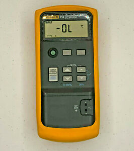 Fluke 714 Thermocouple Calibrator Tempeature K Type