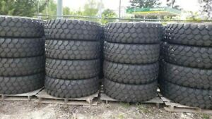 Michelin Xzl 395 85r20 Military Set Of 4