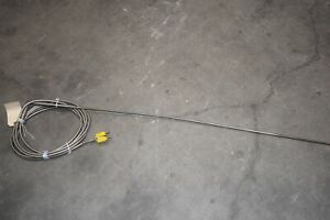 Pyco Thermocouple Probe Sensor Braided