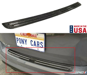 Carbon Fiber Rear Bumper Scuff Pad Plate For 2013 2018 Ford Focus St Rs