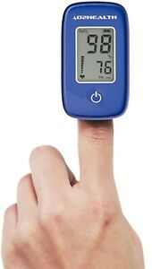 02health Fingertip Pulse Oximeter With Carrying Case Model Db12