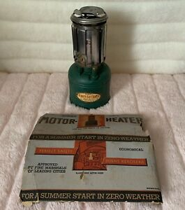 Rare Vtg Bunsen Davey Engine Block Heater 1920 1930 For Truck Car Tractor