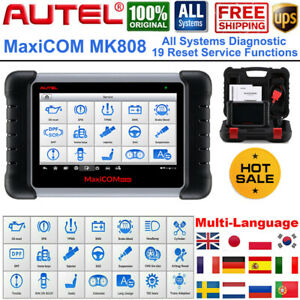 Autel Mk808 Obd2 Scanner Maxisys Automotive Diagnostic Scan Tool Immo Key Coding