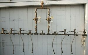 Victor 6 Oxygen 2 Acetylene Cylinder Manifolds Welding Tank Compressed Gas Sys