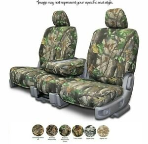Custom Fit Camo Seat Covers For Cars Trucks And Suvs Realtree True Timber
