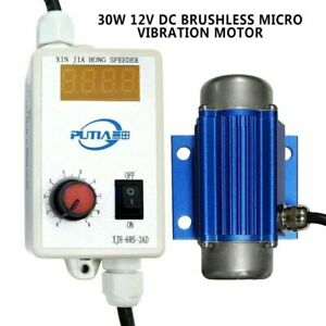 30w Micro Vibration Motor Dc Brushless Speed Controller Feeder Massager 7000rpm