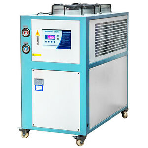 6 Ton Air cooled Industrial Chiller Smart Lcd 72l Water Tank Stainless Steel