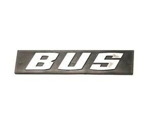 Nos Bus Emblem lettering Characters Of Types Of For Vw T3 Bus Tailgate