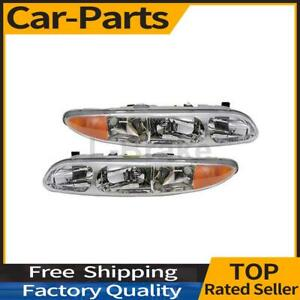Fits Oldsmobile Alero 1999 2004 2x Tyc Left Right Headlight Assembly