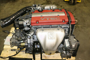 Jdm 97 02 Honda Accord Euro R Cl1 Prelude H22a Type S Engine 5 Speed Lsd Trans