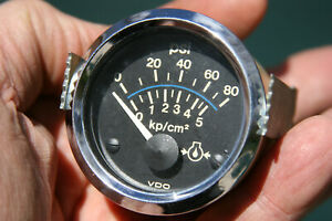 Vdo Vintage Electric Oil Pressure Gauge